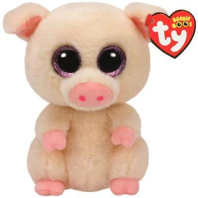 Ty Beanie Boos Small Plush, PIGGLEY THE PIG, 2Pack