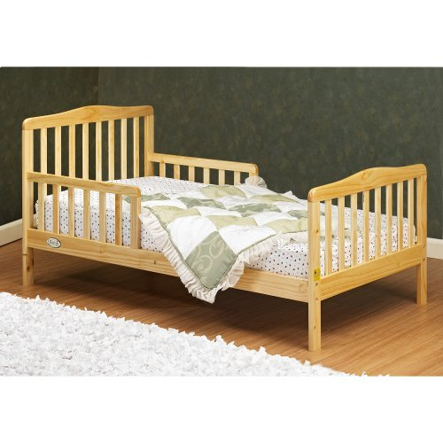 Orbelle Contemporary Toddler Bed-Color:Natural