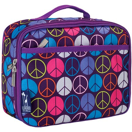 Wildkin Peace Signs Lunch Box