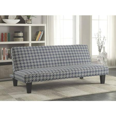 Coaster company navy trellis pattern sofa bed for Al amwaj furniture decoration factory