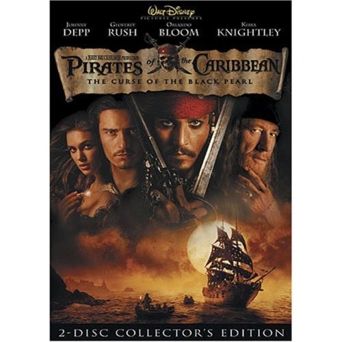 PIRATES OF THE CARIBBEAN CURSE OF THE BLACK PEARL (DVD/2 DISC)
