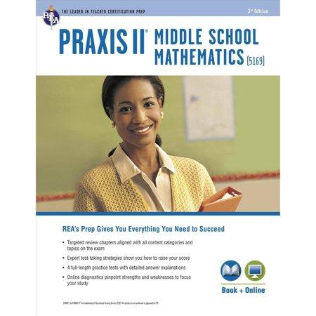 Praxis Ii Middle School Mathematics 5169