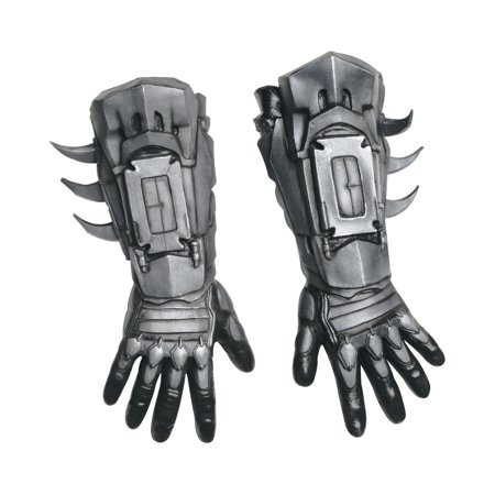 Adult's Mens Deluxe Batman Arkham City Asylum Gloves Costume Accessory