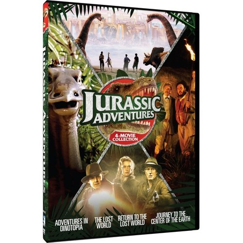Jurassic Adventures: The Lost World   Return To The Lost World   Adventures In Dinotopia   Journey To The... by Mill Creek Entertainment