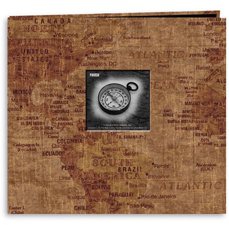 Pioneer travel postbound album with photo window 12x12 world pioneer travel postbound album with photo window 12x12 world map gumiabroncs Image collections