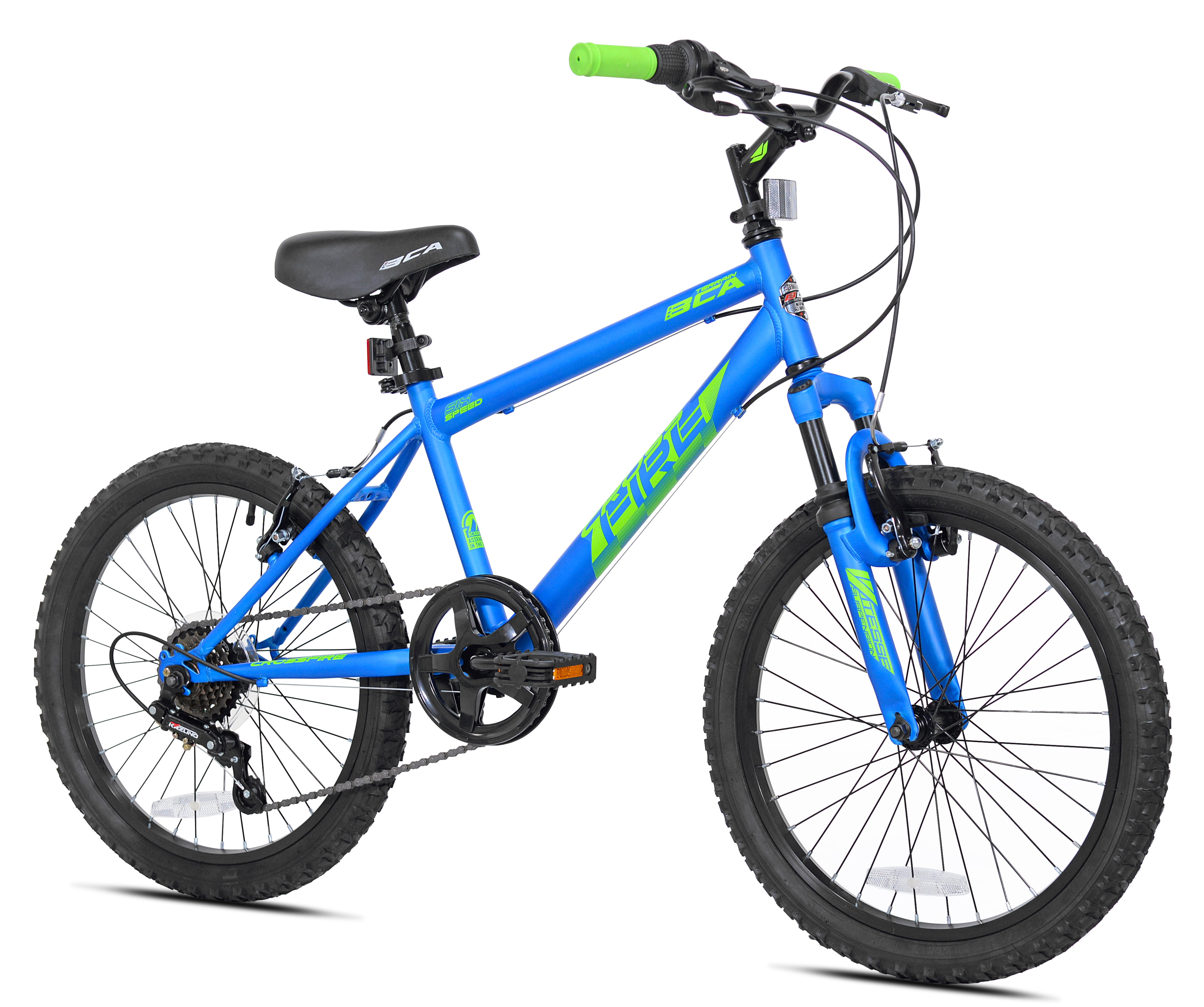 """BCA 20"""" Boys', Crossfire Bike, Blue, For Ages 8-12 by Kent International Inc"""