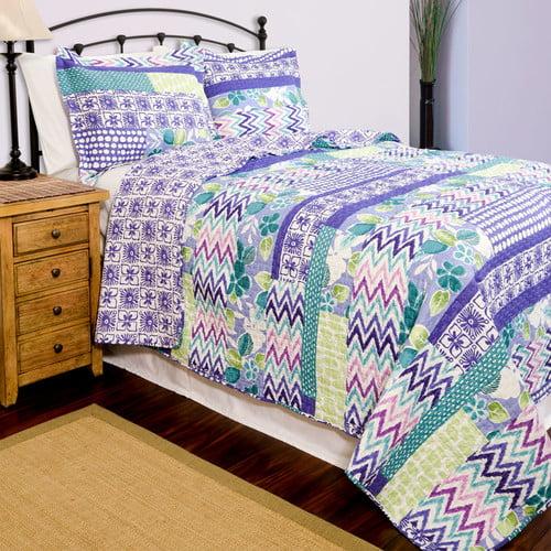 Pegasus Home Fashions Home ID Quilt Set