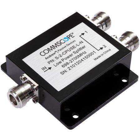 555-2500 MHz 2-Way Splitter w/ N Females - image 1 of 1