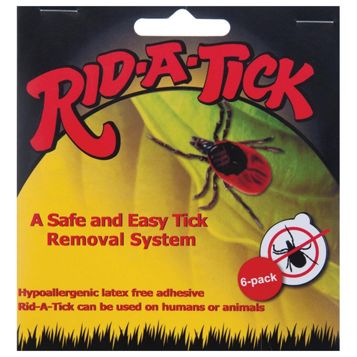 - 80001, A medical patch that easily removes the entire tick from the body in just minutes, the entire tick, head and all! Can be used to easily remove either.., By Rid-A-Tick
