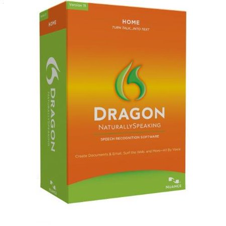 Nuance Dragon NaturallySpeaking 11 Home Software