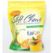 Bariatric Fusion - Probiotic - Digestive & Immune Support - Orange Tropical - 60 Soft Chews