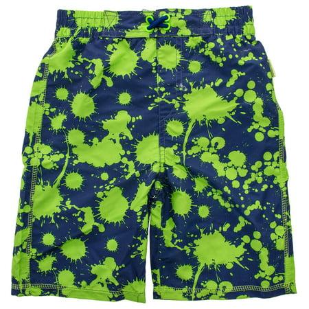Coppertone Kids Little Boys & Toddlers Swim Trunks UV Protection Bathing Suit Boys Swim Trunks Bathing Suit