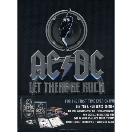 AC/DC: Let There Be Rock: Limited Collector's Edition (With Book, Guitar Pick And Postcards) (Full Frame, LIMITED COLLECTORS)
