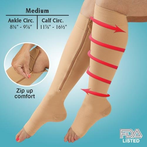 Easy On Compression Socks, 20-30 mmHg