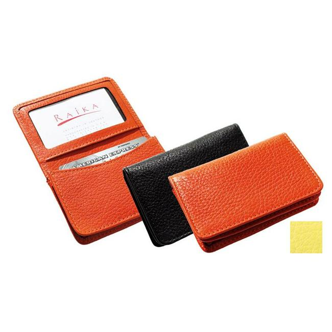Raika RO 156 Yellow 2.75in. x 4.125in. Gussetted Card Case - Yellow - image 1 of 1