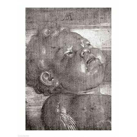 Cherubim Crying 1521 Poster Print By Albrecht Durer