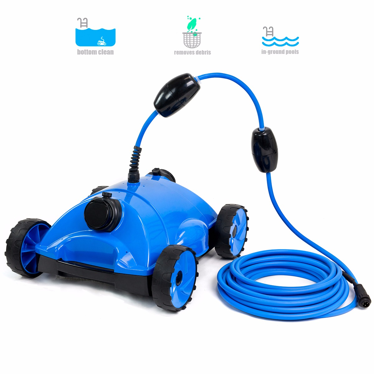 XtremepowerUS Aboveground Automatic Pool Cleaner Robot