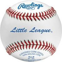 (12 Pack) Rawlings Little League Baseballs, Tournament Grade