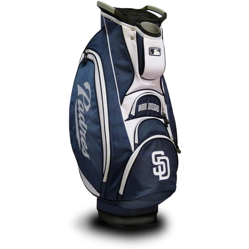 Click here to buy Team Golf MLB San Diego Padres Victory Golf Cart Bag by Team Golf.