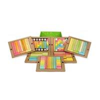 Tegu 240 Piece Classroom Kit in Tints