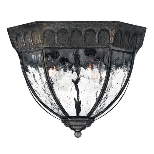 Hinkley Lighting H1713 4 Light Outdoor Flush Mount Ceiling Fixture from the Regal Collection