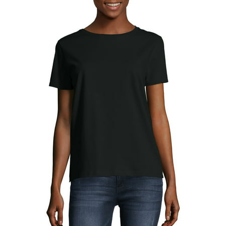 Women's Comfort Soft Short Sleeve Tee (Best Outfits For Short Women)