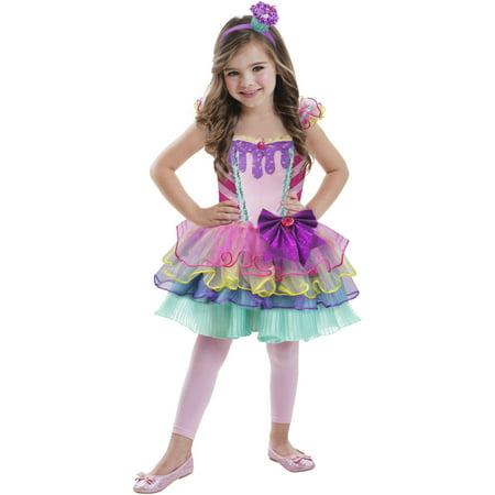 Girls' Cupcake Cutie Costume, M - Girl Cupcake Costume