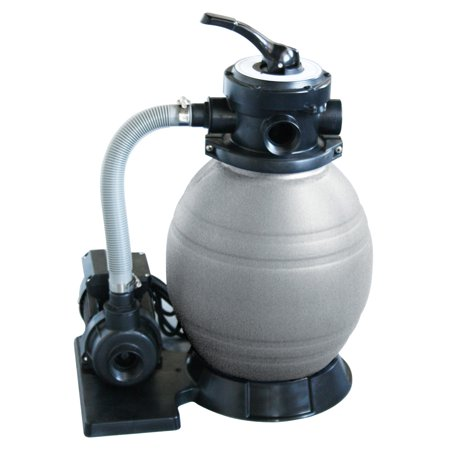 Blue Wave 12-in Sand Filter System w/ 1/2 HP Pump for Above Ground Pools (Waves Gtr System)