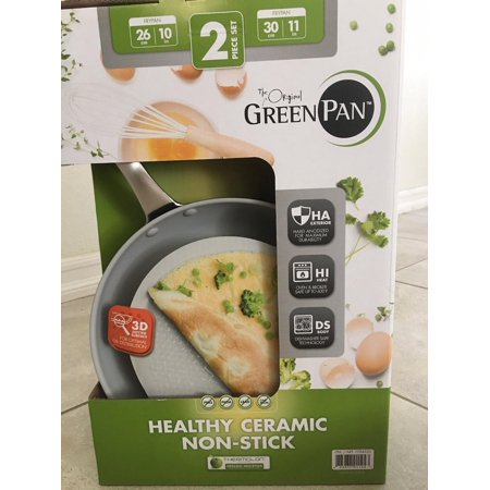Non Stick Ceramic Pan The Orginal Green Pan 2 Piece Set
