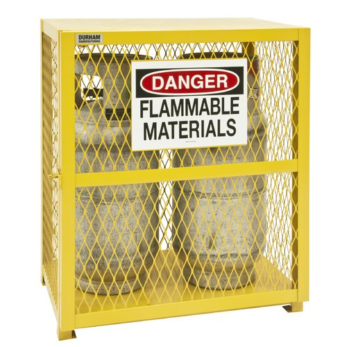 Durham Manufacturing 33.5'' H x 30'' W x 20'' D Vertical Cylinder Storage Cabinet
