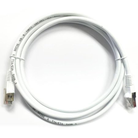 15' CAT6 (500MHz) STP Shielded Network Cable - White - image 1 of 1