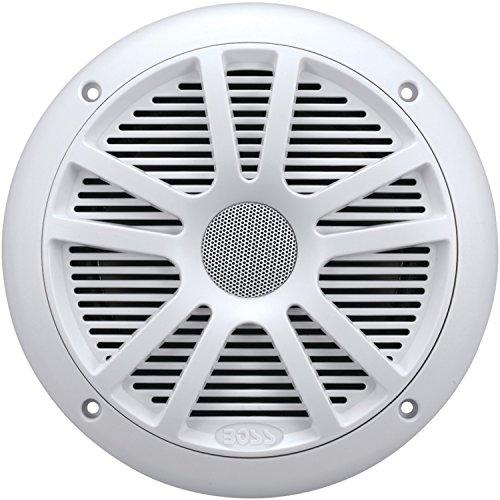 BOSS AUDIO BOSMR6WW BOSS Audio MR6W 180-watt Dual Cone Marine 6.5 Coaxial Speaker