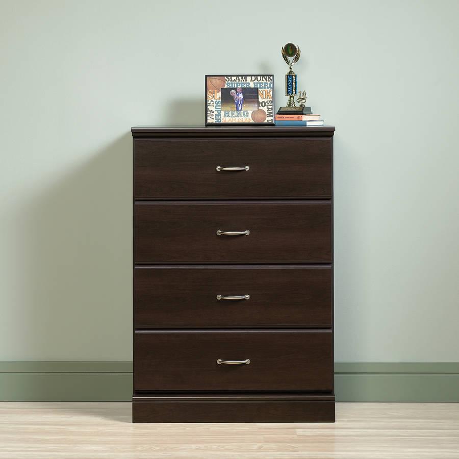 Sauder Parklane 4-Drawer Dresser, Multiple Finishes