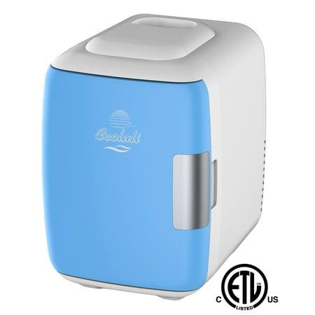 c992acf6727 Cooluli Electric 4-Liter Portable Cooler Warmer Mini Fridge