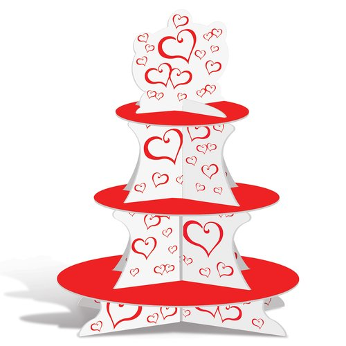 The Holiday Aisle Furness Valentine Cupcake Stand