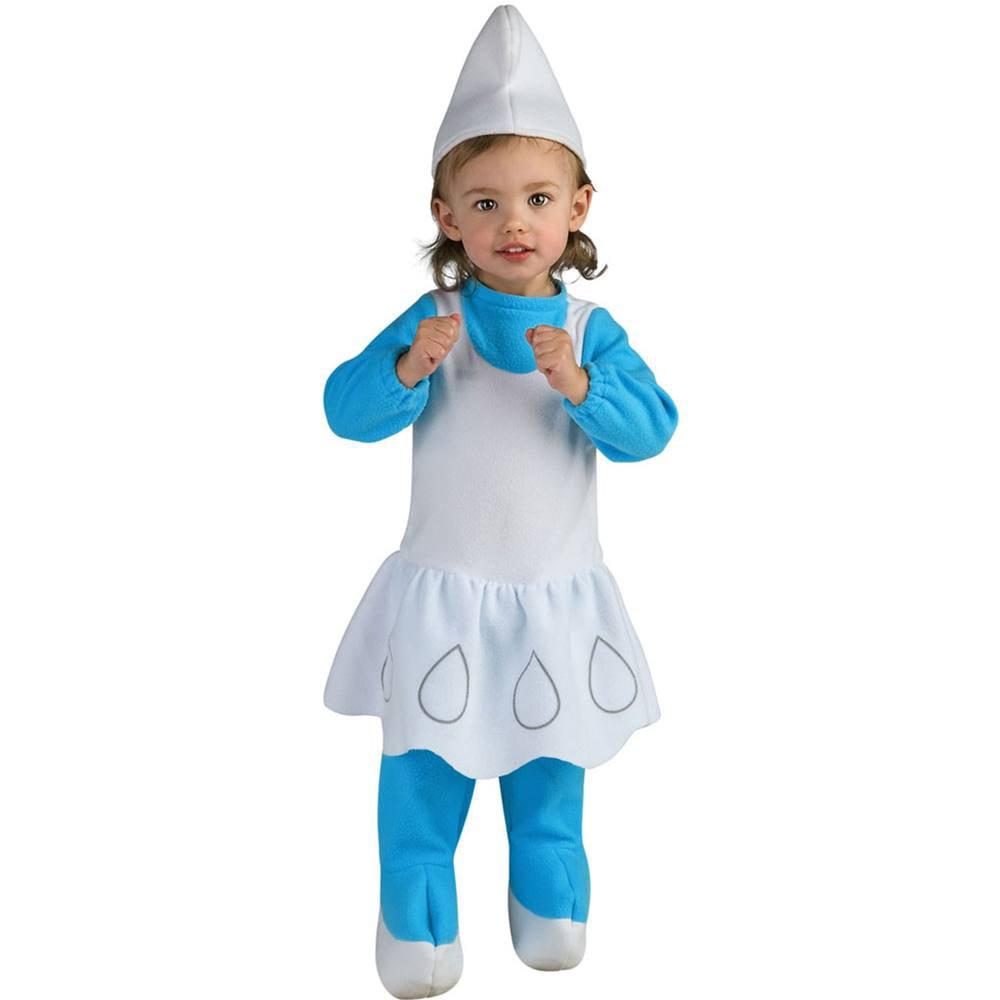 Smurfette Romper Baby Costume