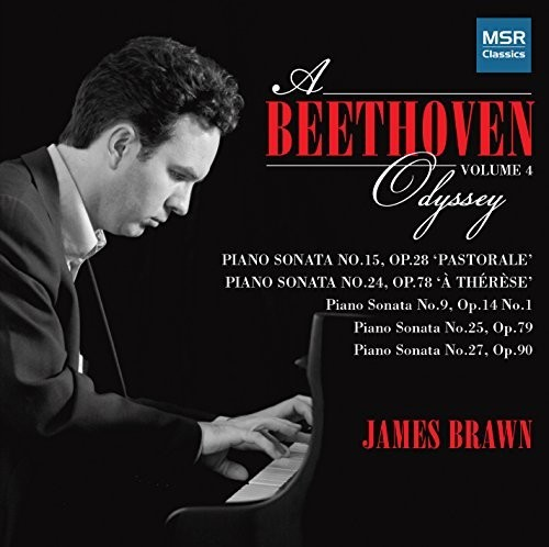 Beethoven, Ludwig   Brawn, James Beethoven Odyssey 1 [CD] by