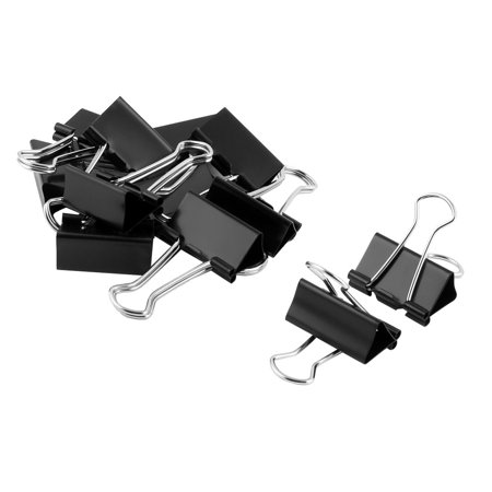 - School Office Metal Ticket File Paper Organized Binder Clips Clamps 12 Pcs