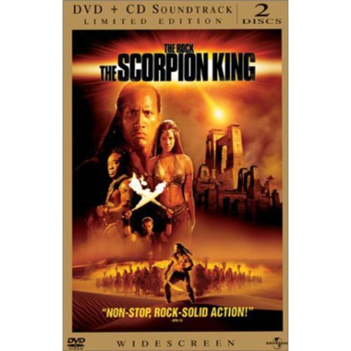 The Scorpion King (Limited Edition) (With Soundtrack) (Widescreen, LIMITED)