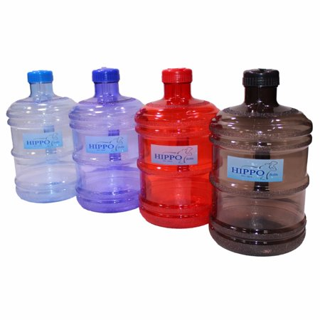 ForestInLA Eco Friendly 1 Gallon (128 oz.) BPA Free FDA Approved Plastic Water One Gallon Bottle w/ 48mm Twist Cap Perfect For Outdoor Sports Gym Fitness Home