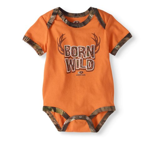 d609f852c8c87 Mossy Oak - Baby Boy Creeper Bodysuit - Walmart.com