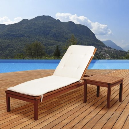 International Home Amazonia 2 Piece Patio Lounge Set in Brown ()