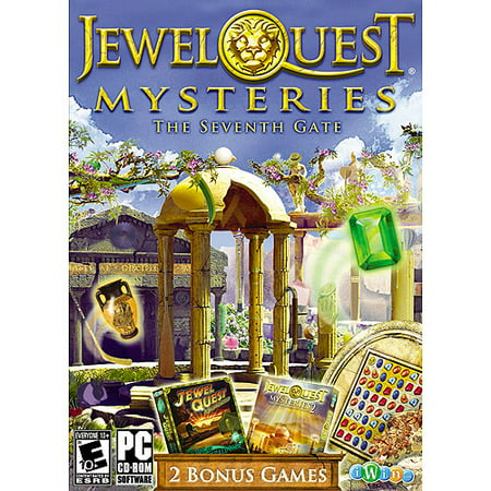 Jewel Quest Mysteries: The Seventh Gate (PC/ Mac) (Pc Games Jewel Quest Solitaire)