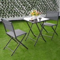 Product Image Costway 3 Piece Folding Outdoor Bistro Set
