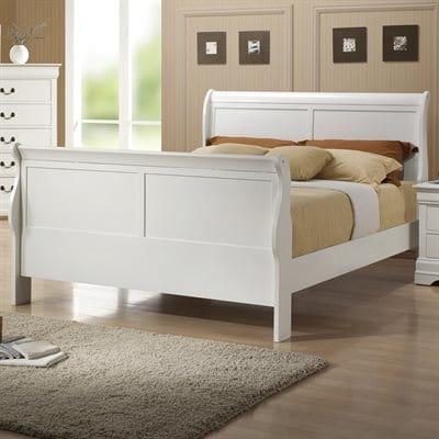 Coaster Fine Furniture Louis Philippe Sleigh Bed