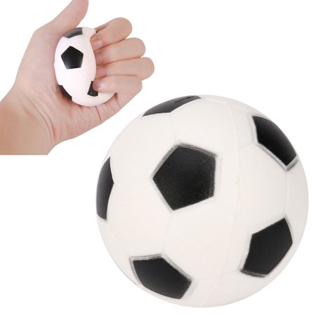 Football Squishies Charm Slow Rising Cream Scented Stress Relief Toy -