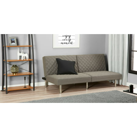 Mainstays Memory Foam Quilted Futon Multiple Colors