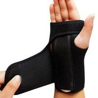 Splint Sprains Arthritis BandBandage Orthopedic Hand Brace Wrist Support black 1pc