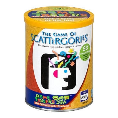 Game Tasters SCATTERGORIES, Game Tasters SCATTERGORIES By Hasbro Ship from US by