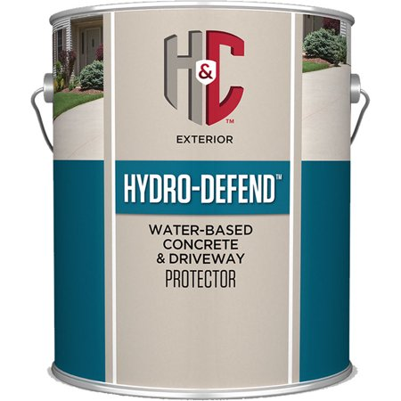 H&C Hydro-Defend water-based Concrete & Driveway Protector CLEAR - Concrete Protector